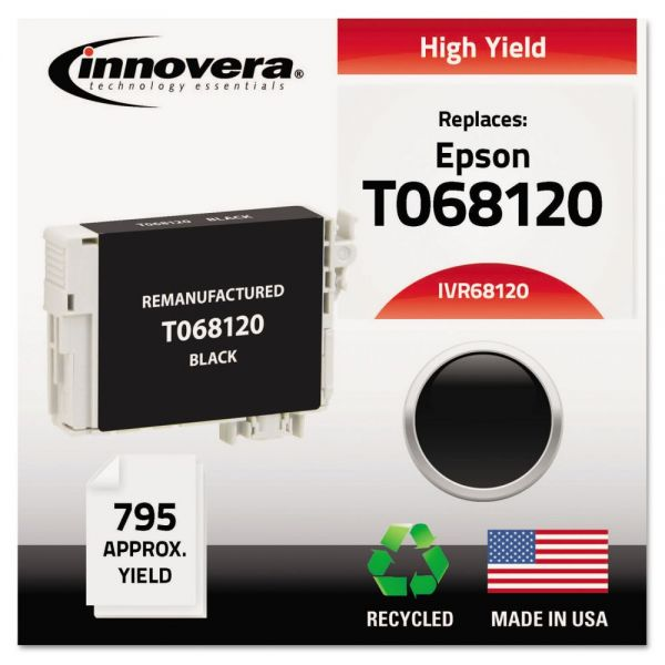 Innovera Remanufactured Epson T068120 High-Yield Ink Cartridge