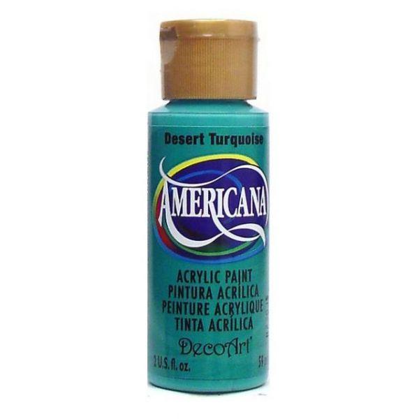 Deco Art Desert Turquoise Americana Acrylic Paint