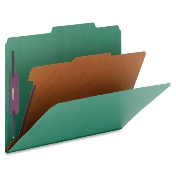 Nature Saver Top-Tab Green Classification Folders