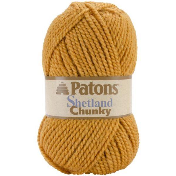 Patons Shetland Chunky Yarn - Gold