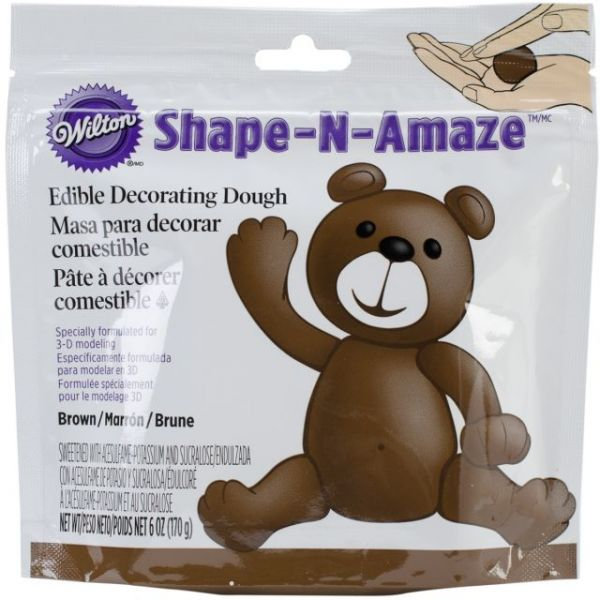 Shape-N-Amaze Edible Decorating Dough 6oz
