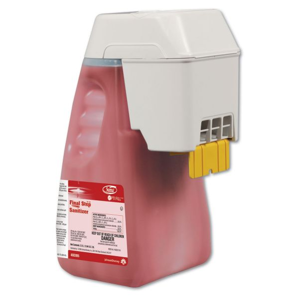Suma Suma Final Step Sanitizer, Optifill Dispenser