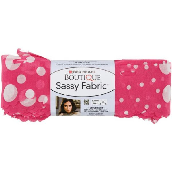 Red Heart Boutique Sassy Fabric Yarn