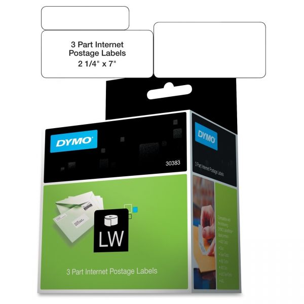 Dymo 3-Part Internet Postage Labels