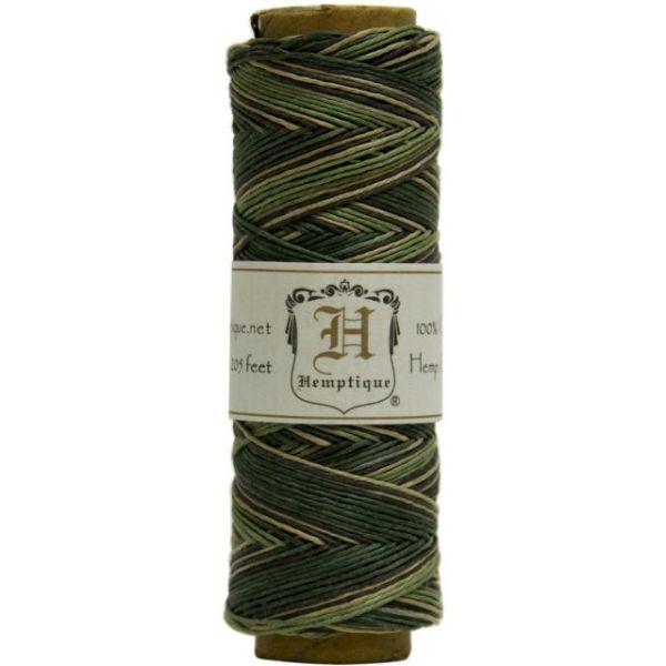 Hemp Variegated Cord Spool 10lb 205'