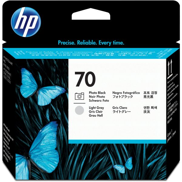 HP 70 Photo Black/Light Gray Printhead (C9407A)