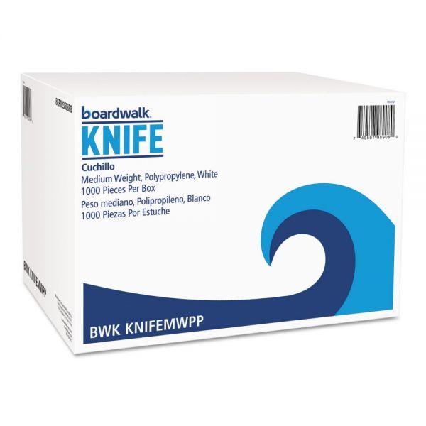 Boardwalk Mediumweight Plastic Knives
