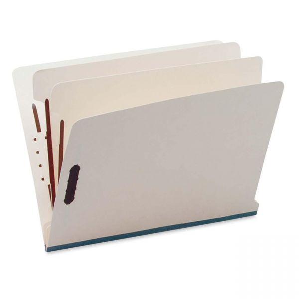 SJ Paper End Tab Manila Classification Folders