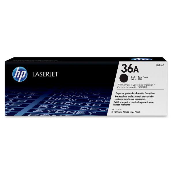 HP 36A Black Toner Cartridge (CB436A)