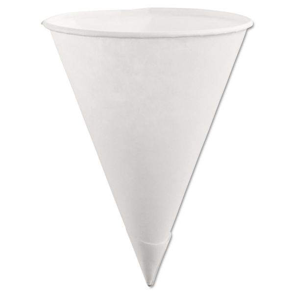 Rubbermaid 6 oz Paper Cone Cups