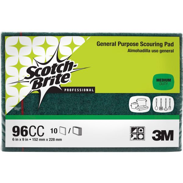 3M Scotch-Brite Commercial Scouring Pad