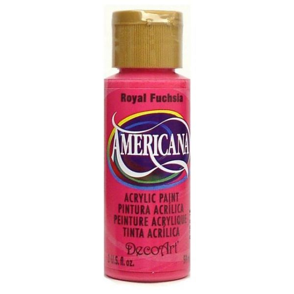 Deco Art Americana Royal Fuchsia Acrylic Paint