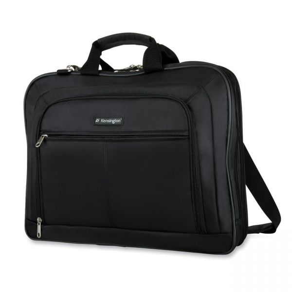 "Kensington Simply Portable Carrying Case for 17"" Notebook - Black"