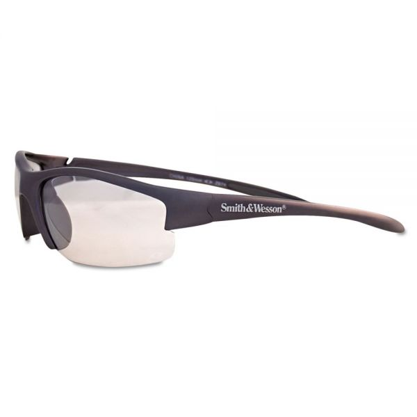 Smith & Wesson Equalizer Safety Glasses, Gun Metal Frame, Clear Lens