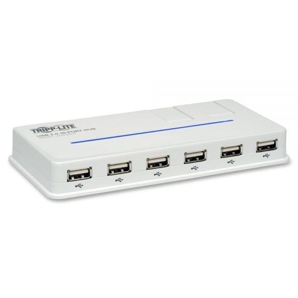 Tripp Lite 10-Port USB 2.0 Hi-Speed Hub
