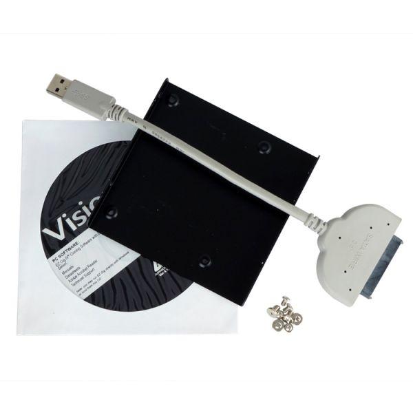 Visiontek Universal SSD Cloning and Transfer Kit (USB 3.0 to SATA)