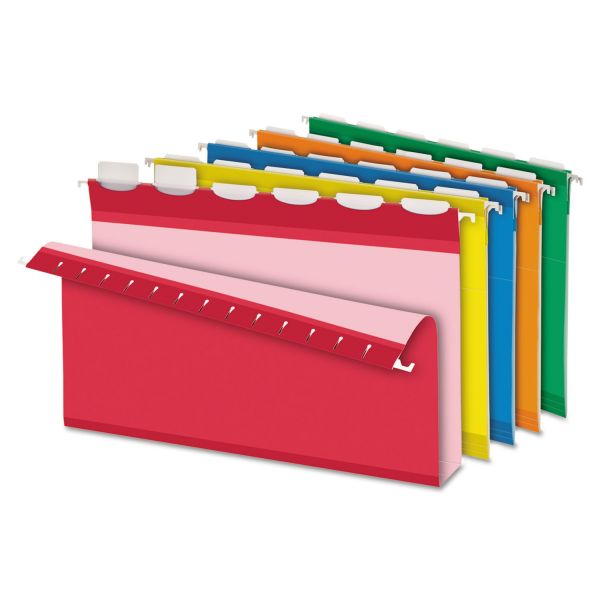 Pendaflex Ready-Tab Hanging Box Bottom File Folders with Lift Tabs