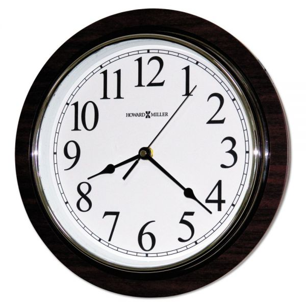 Howard Miller Rosewood Wall Clock