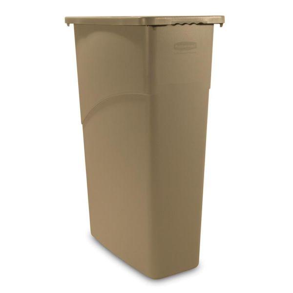 Rubbermaid Slim Jim 23 Gallon Trash Can