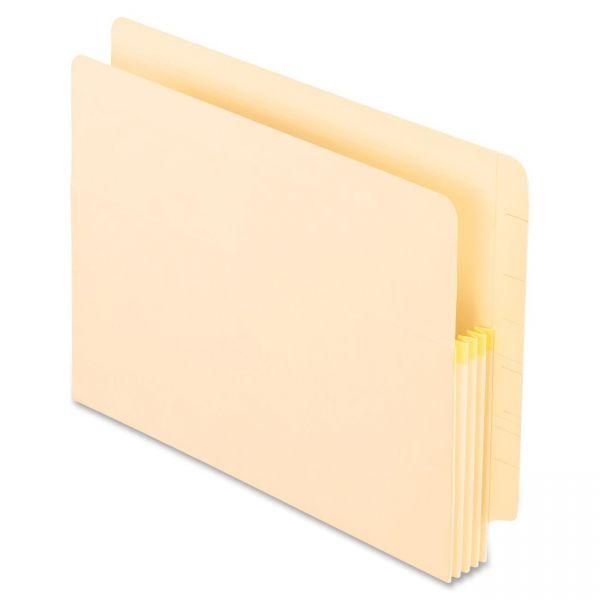 Pendaflex Expanding End-Tab File Pockets