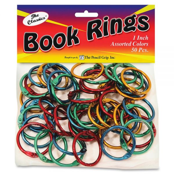 The Pencil Grip Pencil Grip Color Book Rings