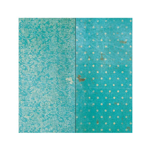 BoBunny Vintage Double Dot Double-Sided Cardstock