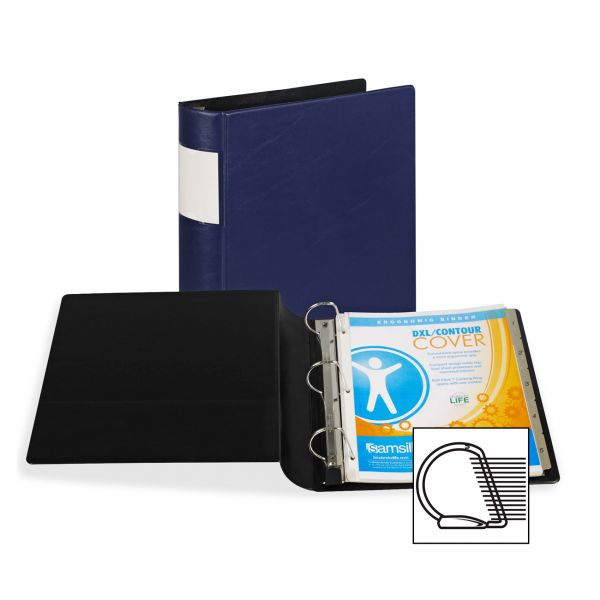 """Samsill Top Performance DXL Reference 2"""" 3-Ring Binder"""