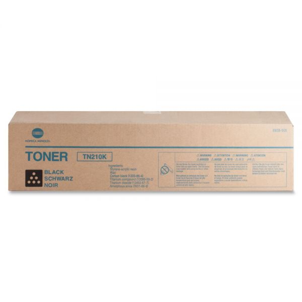 Konica Minolta TN-210K Original Toner Cartridge