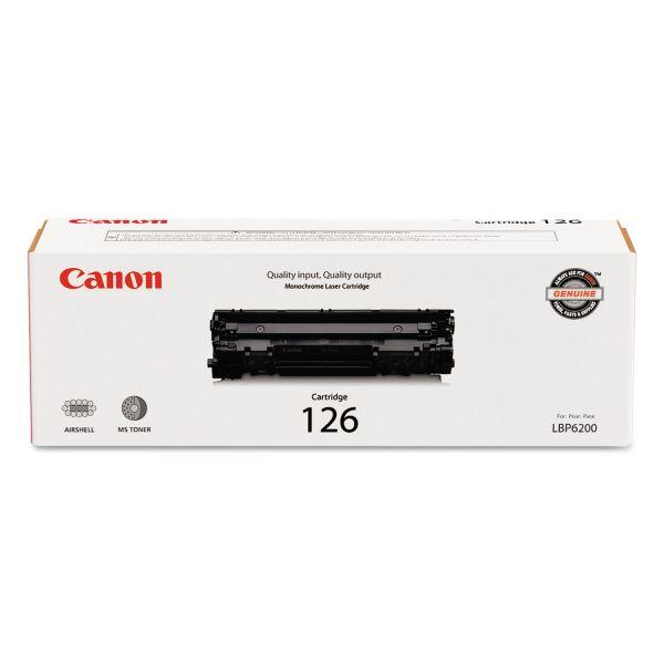 Canon 126 Black Toner Cartridge (3483B001)