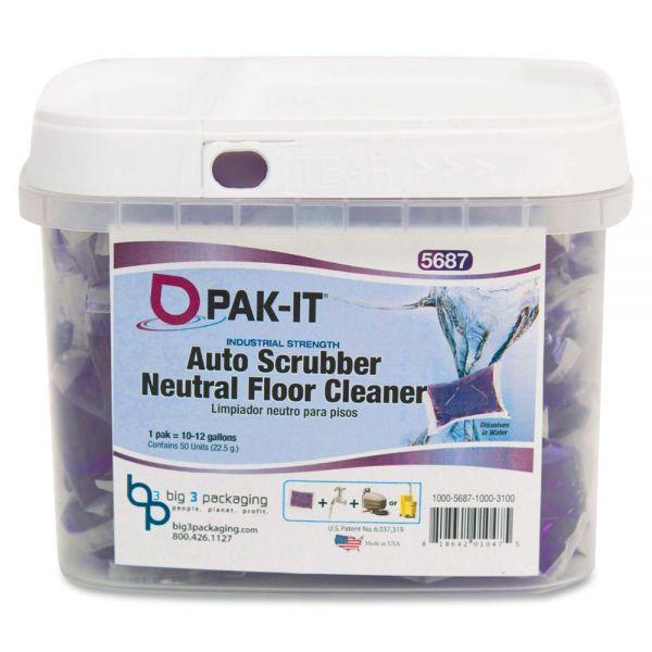 PAK-IT Auto Scrub Neutral Floor Cleaner