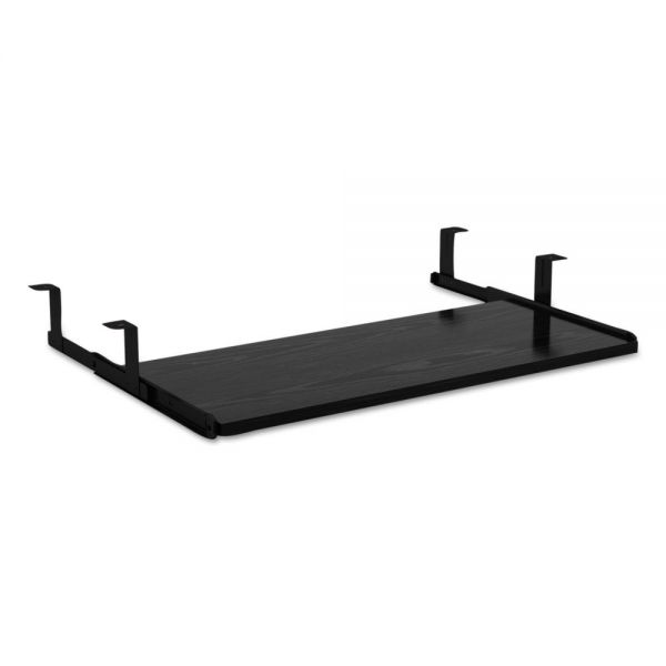 Alera Alera Valencia Series Underdesk Keyboard/Mouse Shelf, 28w x 12d, Black