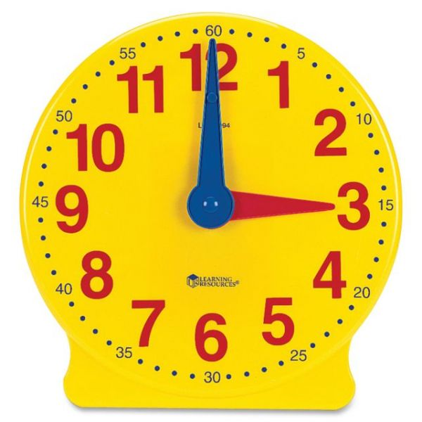 Learning Resources Big Time Demonstration Clock