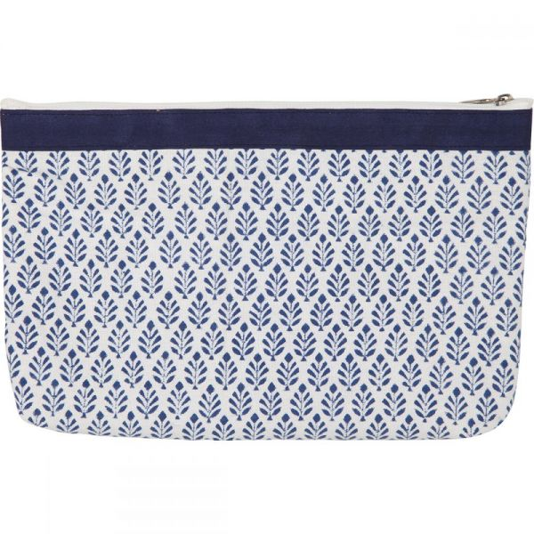 Reverie Full Fabric Zipper Pouch