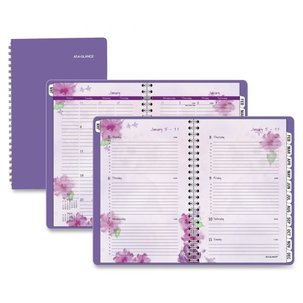 At-A-Glance Beautiful Day Premium Weekly/Monthly Appointment Book