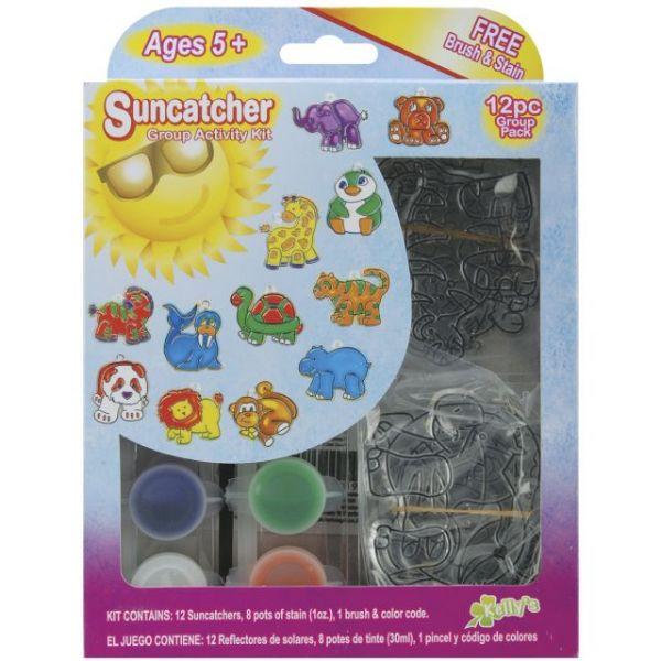 Kelly's Kidz Sparkle Zoo Suncatcher Activity Kit