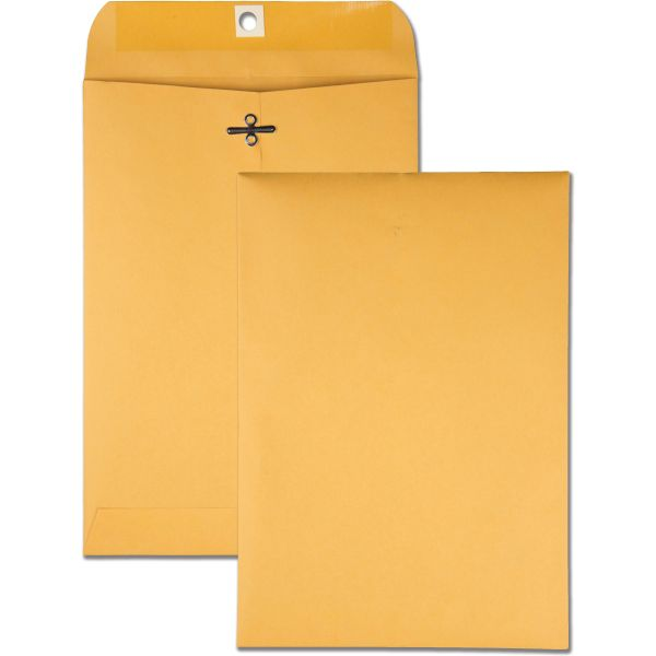 """Quality Park Gummed 7"""" x 10"""" Clasp Envelopes"""