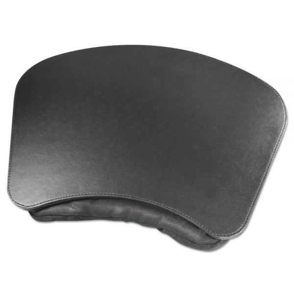 Artistic Lap Desk with Plush Pillow, 19w x 13 1/2d, Black