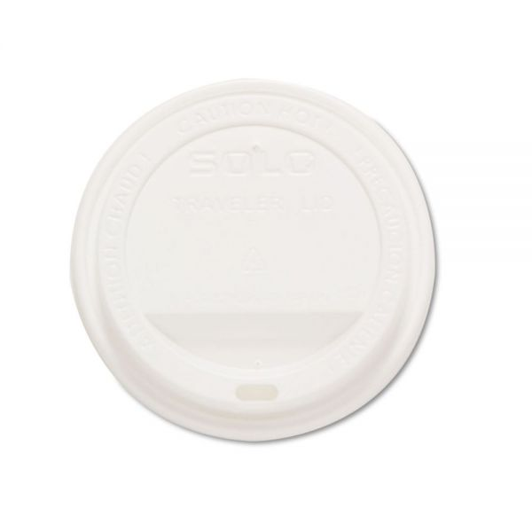 SOLO Cup Company Drink-Thru Coffee Cup Lids