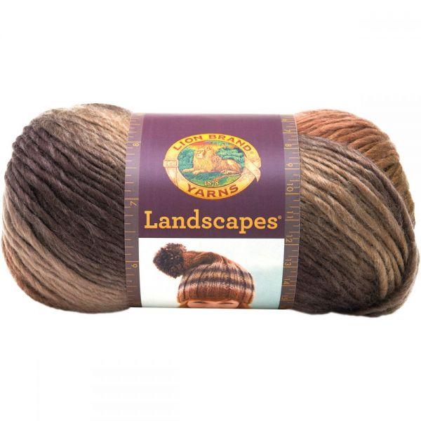 Lion Brand Landscapes Yarn - Sand Dune