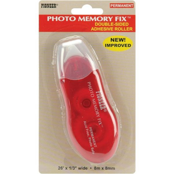 Photo Memory Fix Permanent Adhesive Roller