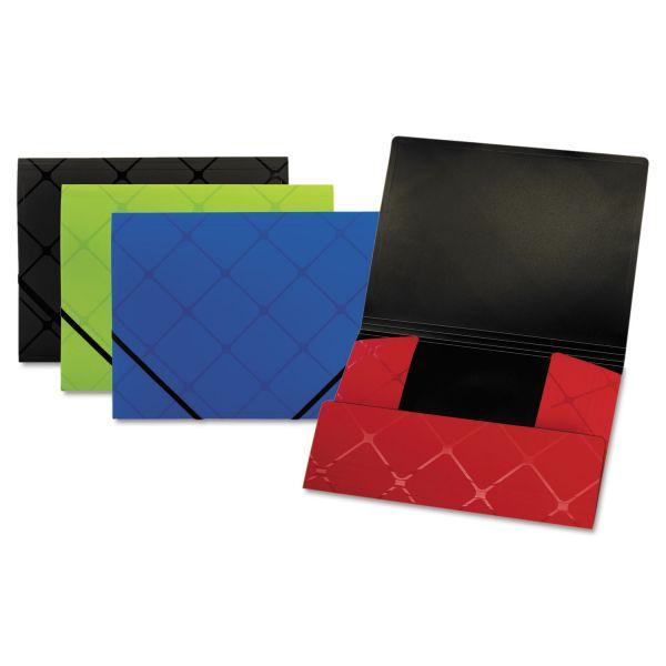 Globe-Weis Tri-Fold Folder