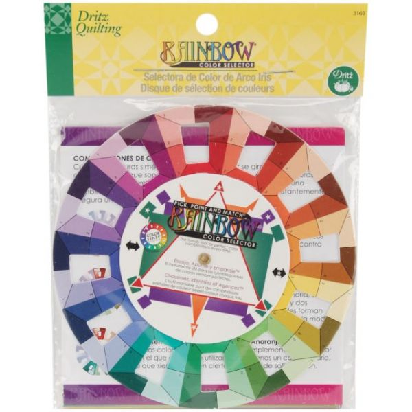Dritz Quilting Rainbow Color Selector