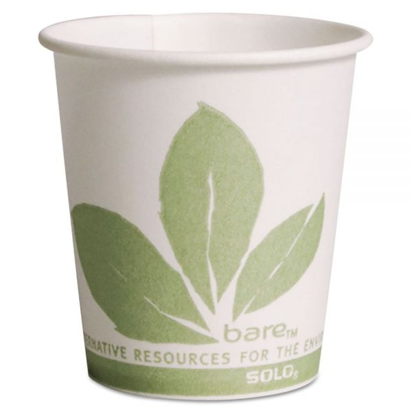 SOLO Cup Company Bare Eco-Forward 3 oz Paper Cold Cups