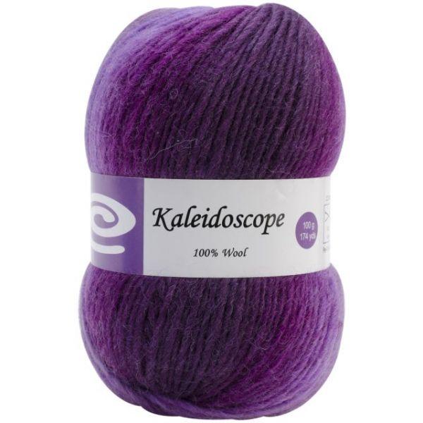 Elegant Kaleidoscope Yarn - Purple Iris