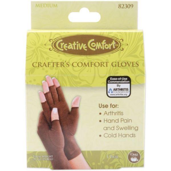 Creative Comfort Crafter's Comfort Gloves 1 Pair