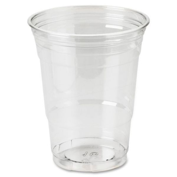 Dixie Foods Crystal Clear 16 oz Plastic Cups