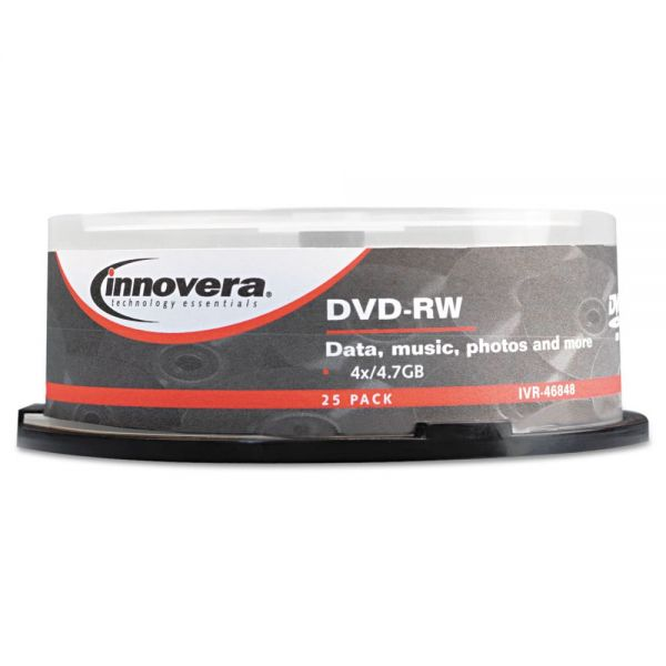Innovera Rewritable DVD Media