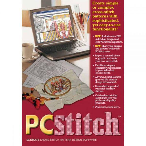 PC Stitch 10 Pro Cross Stitch Software