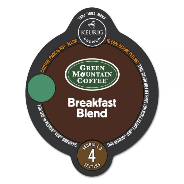Green Mountain Coffee Roasters Breakfast Blend Coffee Vue Pack
