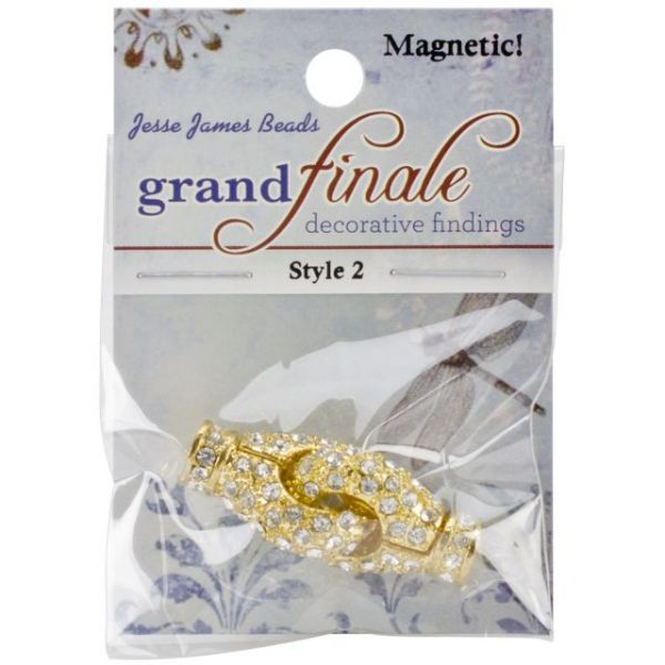 Grand Finale Magnetic & Rhinestone Clasps